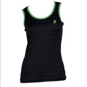 🎾Prince Tennis Black Green Tank Top🎾